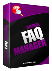 Dimbal FAQ Manager Version 2 Product Announcement